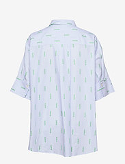 Hope - Dusty Shirt - overhemden met korte mouwen - lt blue stripe - 1