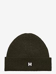 H Hat - DK FOREST GREEN