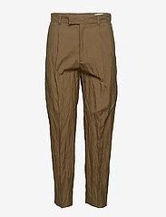 Hope - Alta Trouser - suorat housut - khaki green - 0