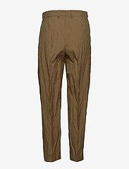 Hope - Alta Trouser - suorat housut - khaki green - 1