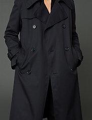 Hope - Sky Coat - trenchcoats - navy - 0