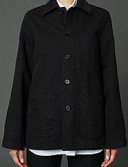 Hope - Worker Jacket - jeansjacken - washed black - 0