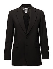 Strong LS Blazer - BLACK SUIT