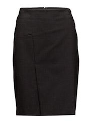 Two Skirt - BLACK
