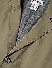 Hope - Standard Coat - trenchcoats - khaki green - 2