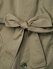 Hope - Standard Coat - trenchcoats - khaki green - 5