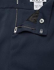 Hope - Frame Trousers - bukser med brede ben - navy - 3