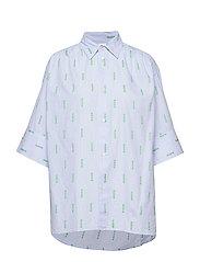 Dusty Shirt - LT BLUE STRIPE