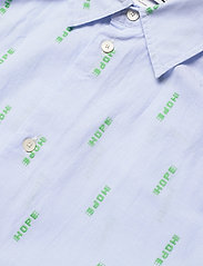 Hope - Dusty Shirt - overhemden met korte mouwen - lt blue stripe - 2