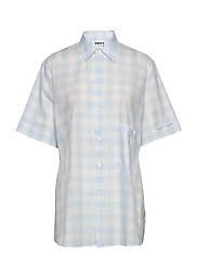 Elma Shortsleeve - BLUE CHECK