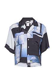 Short Shirt - HEAVEN BLUE PRINT
