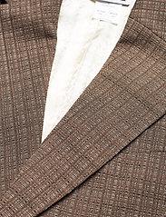 Hope - Dux Blazer - casual blazers - brown melange - 2