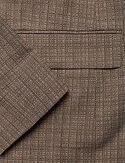 Hope - Dux Blazer - casual blazers - brown melange - 3