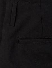 Hope - Law Trouser - bikses ar taisnām starām - black - 4