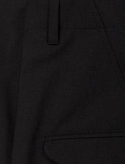 Hope - Was Trouser - bikses ar taisnām starām - black - 3