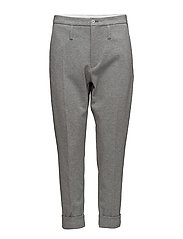 Law Trouser - GREY MEL