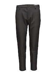 Krissy Trouser - GREY DOGTOOTH