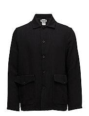 Shirt Jacket - BLACK TWILL