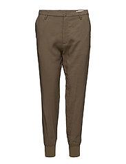 Krissy Cuff Trouser - OLIVE
