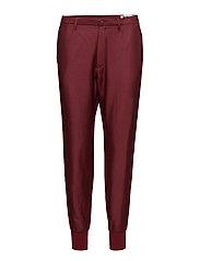 Krissy Cuff Trouser - WINE