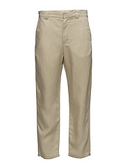 Chang Clean Trouser - BEIGE