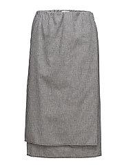 Hanoi Skirt - BLACK CHECK
