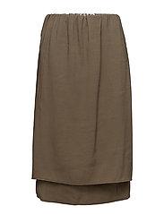 Hanoi Skirt - OLIVE