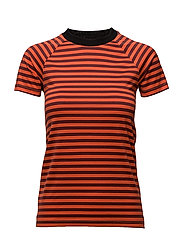 Mash Tee - RED STRIPE