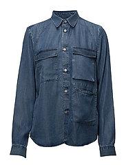 Sand Shirt - BLUE DENIM