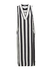 Core Dress - BLACK STRIPE