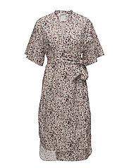 Split Dress - LOVE PRINT