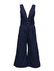 Match Jumpsuit - DK BLUE