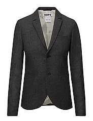 The One Blazer - DK GREY FISHBONE