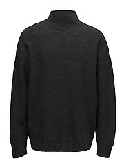 Bold Sweater - DK GREY MEL