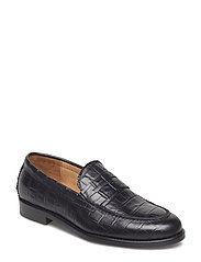 Patty Loafer - BLACK CROCO