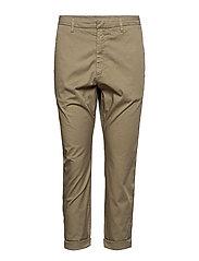 News Trouser - CEDAR GREEN