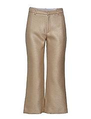 High Trouser - BEIGE TWILL