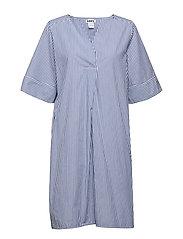 Mono Dress - BLUE STRIPE