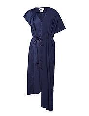Temple Dress - NAVY