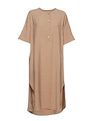 Row Dress - PINK SAND