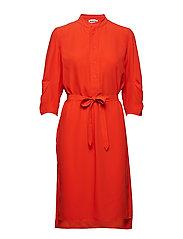 Flex Dress - BRIGHT RED