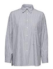 Elma Shirt - GREY STRIPE