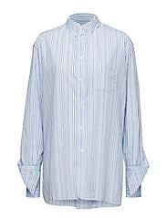Vibe Shirt - BLUE STRIPE