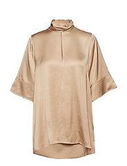 Twist Shirt - BEIGE