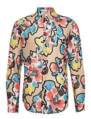 Air Clean Shirt - PAINTED FLOWER