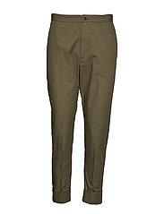 Law Trouser - KHAKI GREEN