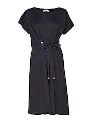 Lock Dress - BLACK