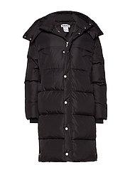 Duvet Coat - BLACK