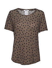 One Tee - BIG DOT KHAKI BROWN