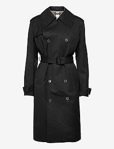 Sky Coat - trenchcoats - navy